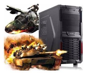 Cpu Gamer ²core 4g Hd500g Wifi Programa Jogos Autodesk Corel