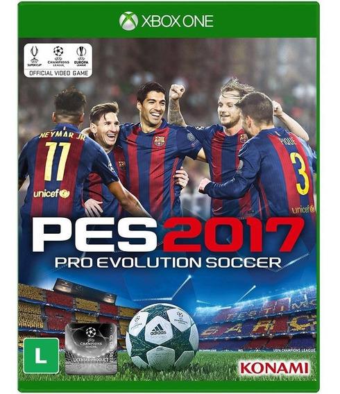 Jogo Pro Evolution Soccer 17 Pes 2017 Xbox One