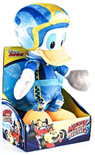 Mickey And The Roadster Racers Donald Peluche 35cm Educando