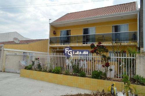 Imagem 1 de 18 de Sobrado Com 3 Dormitórios À Venda, 147 M² Por R$ 425.000,00 - Colônia Rio Grande - São José Dos Pinhais/pr - So0144