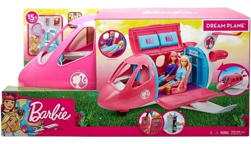 Barbie Avion Jet De Lujo Dreamplane Oferta + Muñeca Envio Ya