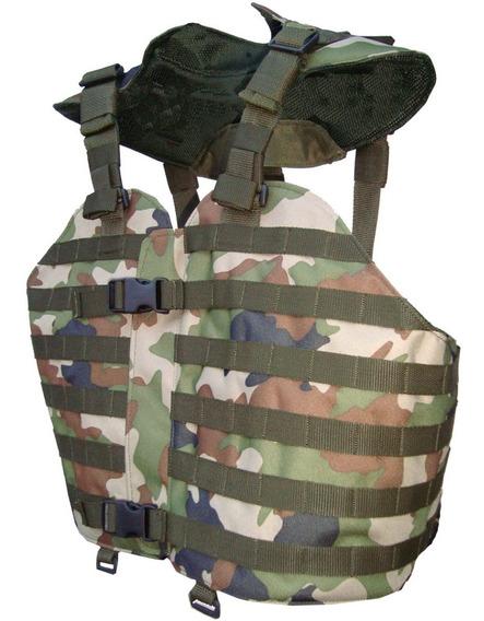 Chaleco Táctico Militar/policial Sistema Molle/gendarmeria/ejercito/seguridad/paint Ball/aventura