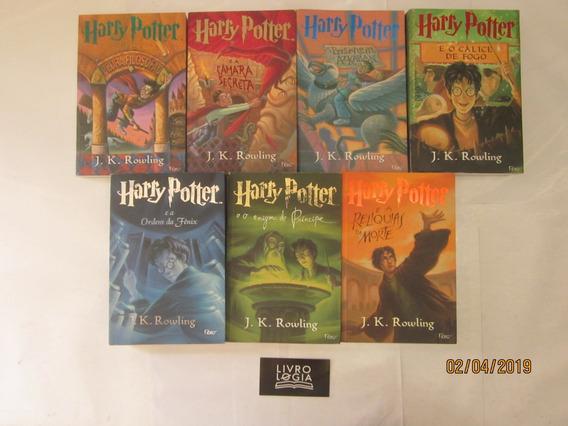Livros Coleção Série Completa 7 Volumes Harry Potter