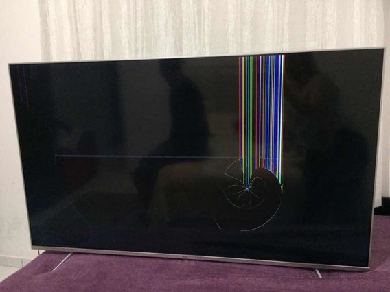 Televisão 55 Polegadas- Marca Tcl Com Defeito!!!