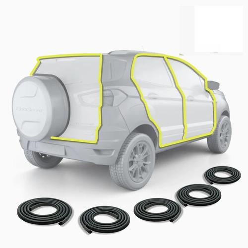 Combo 4 Burletes De Puerta + Baul Ford Ecosport 2003 A 2012