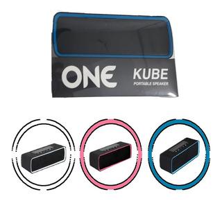 Parlante Bluetooth 4.2 1200 Mah Doble Altavoz Hifi Kube