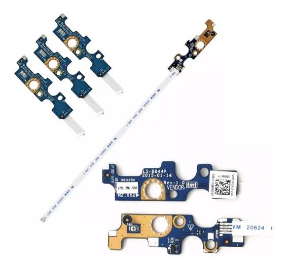 Placa Botão Power Dell 14 3458 5458 15 5558 5566 Ls-b844p