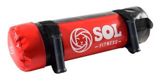 Core Bag Sand Bag 15 Kg Entrenamiento Funcional Sol Fitness