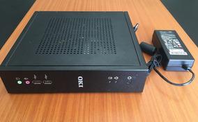 Mini Pc Atom - 500gb - 4gb - Oki Itautec Nt2050 Slim - Novo