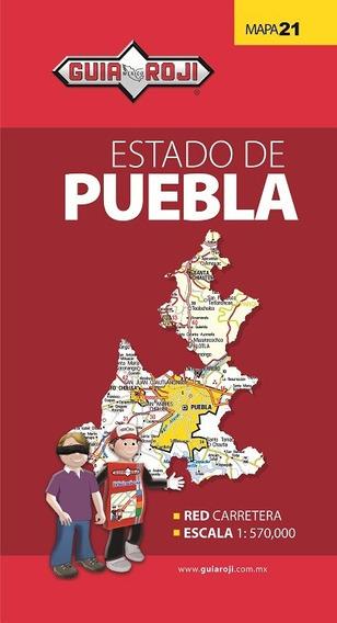 Mapa Estado De Puebla Guia Roji
