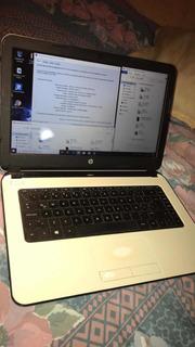 Laptop Hp Notebook 14 + Ram 8 Gb + Cargador