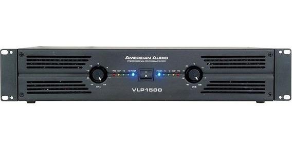 Amplificador Profesional American Audio Vlp1500 - Audiotech.