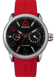 Reloj Reebok Para Hombre Con Tablero Redondo Color Negro Y