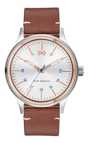 Reloj Mark Maddox Hombre De Lujo En Cuero