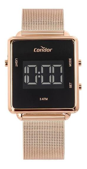 Relógio Condor Feminino Digital Trendy Rosé Cobjf156ac/4j