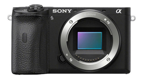 Sony Alpha 6600 mirrorless cor preto