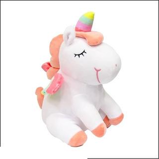 Peluche Unicornio Sentado Soft Nuevo 31cm Nena 1806 Bigshop
