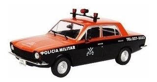Miniatura Ford Corcel Polícia Militar 1.43 Carros De Serviço