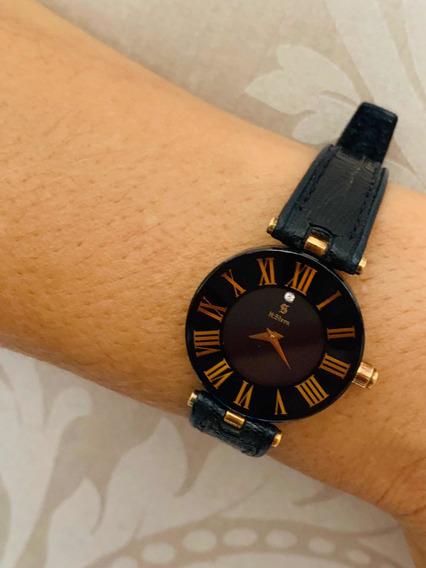 Relógio H.stern Safira-ouro-brilhante.