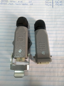 Plug/conector Harting En Rfa Han 3a-m 10a 230/400v 4kv.