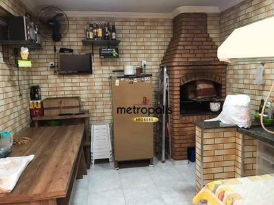 Sobrado Com 3 Dormitórios À Venda, 167 M² Por R$ 750.000 - Cerâmica - São Caetano Do Sul/sp - So0444