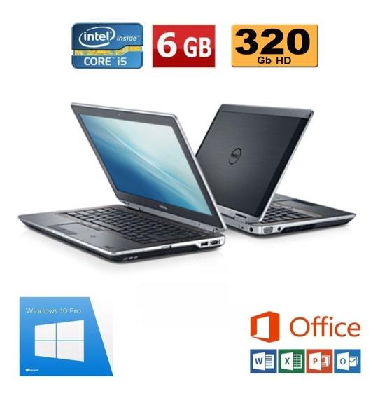 Notebook Dell Latitude E6320 Core I5 2.50ghz 6gb Hd 320
