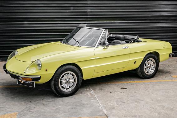 1974 Alfa Romeo Spider 2000 Conversivel