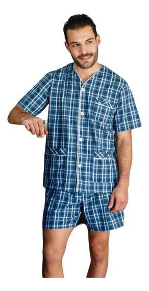 Pijama Verano Camisero Hombre Tipico 525 - Talles Grandes