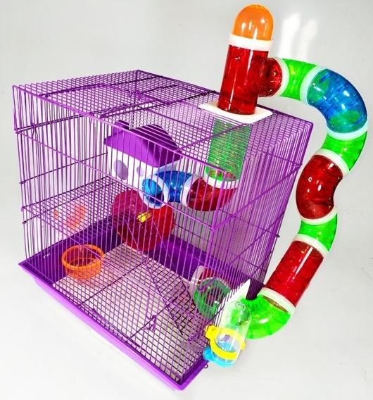 Gaiola Labirinto 3 Andares Para Hamster
