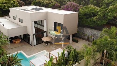 Casa Com 5 Dormitórios À Venda, 530 M² Por R$ 4.500.000,00 - Condomínio Vale Do Itamaracá - Valinhos/sp - Ca13890