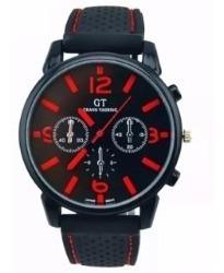 Reloj Para Caballero Con Numeros Rojos