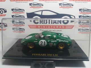 Ferrari 250 Lm Coleção Ferrari Collection Ed 7 Escala 1/43