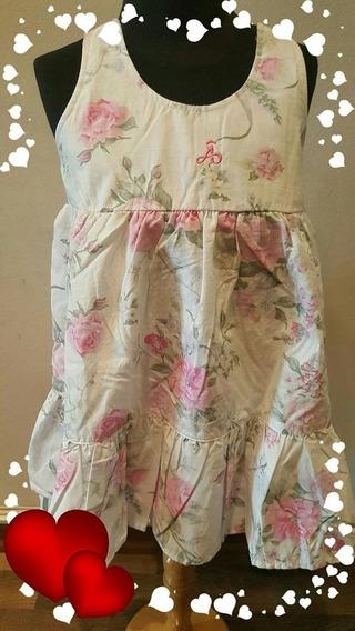 Vestido Para Nena Verano Floreado