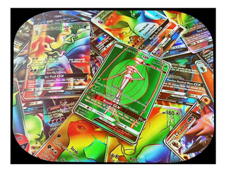 Lote 150 Cartas Pokemon : 50 Gx + 50 Mega Ex + 50 Ex