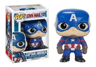 Funko Pop Marvel Captain America Civil War 125 Nuevo Vdgmrs
