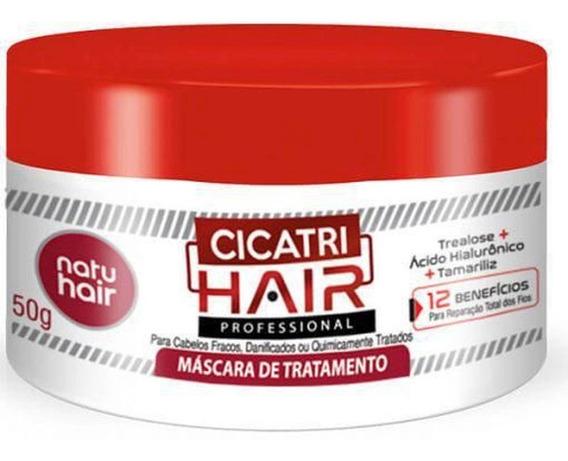 Máscara De Tratamento Natuhair Cicatri-hair 350g