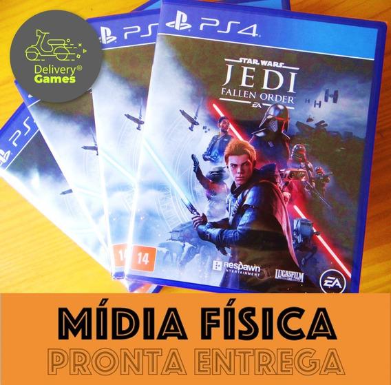 Star Wars Jedi Fallen Order Ps4 Midia Fisica Lacrado Novo