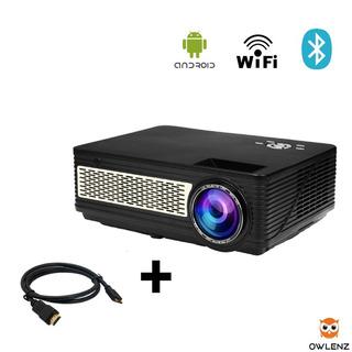 Smart Proyector Sd300 Owlenz 3200 Lumens Fullhd 120 PuLG