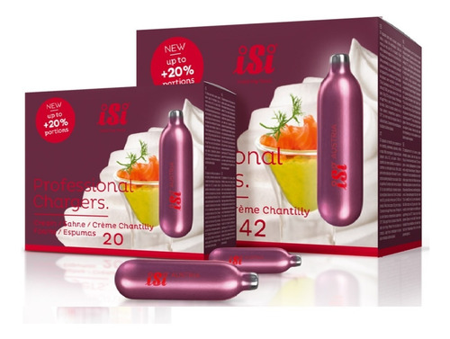 Balas Para Dispensador Crema Chantilly Caja Por 48 Und 20%+