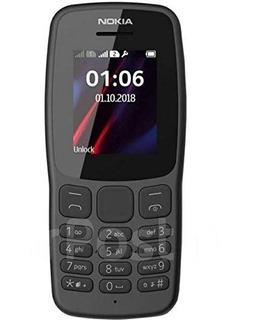 Nokia 106 Lanterninha 2 Chips Preto