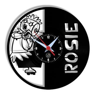 Relógio De Parede Vinil - Jetsons Rosie