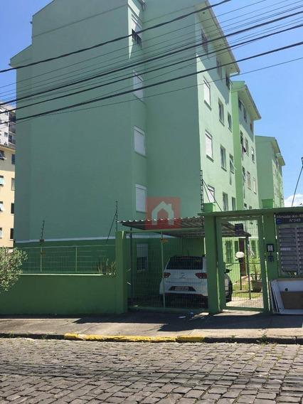 Apartamento Com 2 Dormitórios Para Alugar, 50 M² Por R$ 650,00/mês - Nossa Senhora Do Rosário - Caxias Do Sul/rs - Ap0251