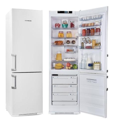 Heladera Con Freezer Abajo Kohinoor Kgs4094 367 Lts Blanca