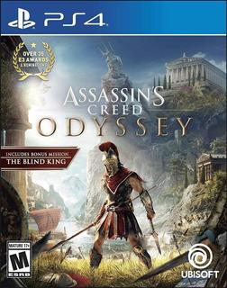 Assassins Creed Odyssey Ps4 Nuevo Fisico Sellado