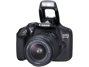 Câmera Canon Digital Profissional Rebel T6 Pronta Entrega
