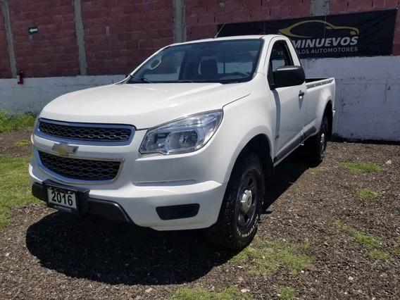 Chevrolet S-10 Pick-up 2016 2p Cabina Regular L4/2.5 Man