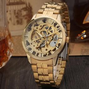 Relógio Dourado T-winner