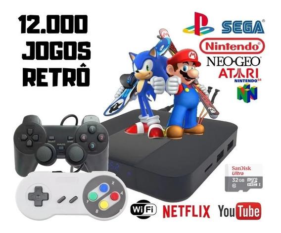 Video Game Portatil 12 Mil Jogos 1 Control Play 1 Nintendo