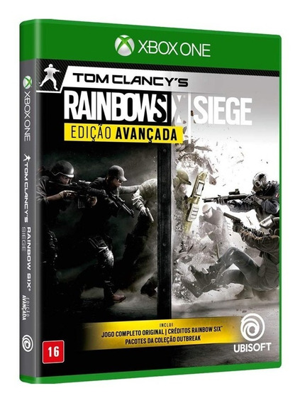 Rainbow Six Siege Ed. Avançada - Xbox One ( Novo, Lacrado)