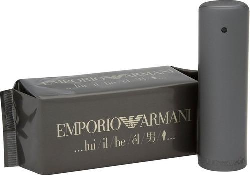 Perfume Locion Emporio Hombre 100% Orig - L a $3400